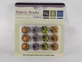 We R Memory Keepers 12 pc Fabric Brads Spookville - New - $5.69