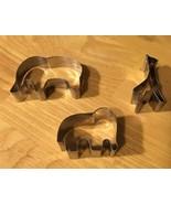 Elephants & Giraffe Cookie Cutters - $5.89