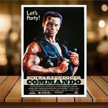 Metal Vintage Commando 80s Movie Bar Pub Shed Garage Man Cave SIGN cocktai - $5.69