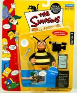 The Simpsons Series 5 Playmates Action Figure Bumblebee Man - $12.38