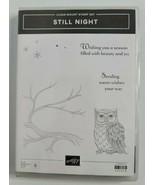 STILL NIGHT Stamp Set & NIGHT OWL Framelits By Stampin Up Halloween Branch - $49.99
