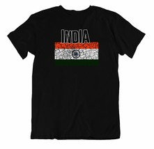Flag T-Shirt India Fashion Country Souvenir Gift Tee Pride logo - $7.57
