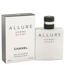 Chanel Allure Homme Sport 1.7 Oz Eau De Toilette Cologne Spray  image 6