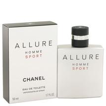 Chanel Allure Homme Sport Cologne 1.7 Oz Eau De Toilette Spray  image 6