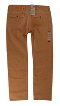 NEW NWT LEVI'S STRAUSS MEN'S ORIGINAL RELAXED FIT CHINO PANTS ORANGE 556880015 image 2