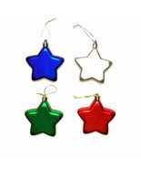 Assorted Color Shatter Resistant Christmas Star Ornaments -Minor Blemish... - $71.95