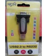 Nexhi C4C-USB-2920 FTDI Chipset High Speed USB 2.0 to Serial RS-232 - $12.86