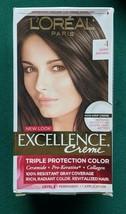 L'Oreal Paris Excellence Creme #4 Dark Brown Triple Protection Color Application - $7.69