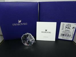 Swarovski Crystal 2019 SCS Membership Gift AMUR FLOWER 5428547 MINT w/Bo... - $44.95
