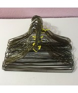 "Metal Wire 15"" Clothes Hangers Lot 50 Clothing Crafts  - $14.85"