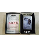 Zippo Limited Edition 'Force of Nature' Eagle Chrome Lighter - $45.61