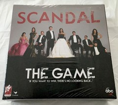 Scandal The Game based on ABC New Sealed Board Game Family Time - $5.86