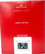 Hallmark  Worth The Wait 2020 - Photoholder  Keepsake Ornament 2020 - $17.81