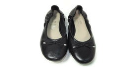 AMERICAN EAGLE Comfy Womens  Pre Teen Girls Black Ballet Flats Shoes Size 3 - $17.10