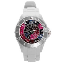 PERIODIC TABLE CHEMISTRY SCIENCE PLASTIC SPORTS WATCH UNIQUE - 8 COLORS ... - $25.99