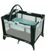 GRACO PACK 'N PAY ON THE GO PLAYARD W/BASSINET, STRATUS *DISTRESSED PACKAGING* - $60.76
