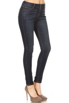 Womens Ankle Jeans, Stretch Skinny Jeans, Dark Wash Ankle Jeans, Womens