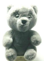 Vintage Dakin Grandpa Teddy Bear Spectacles 11 inches Gray Stuffed Animal Toy - $24.95