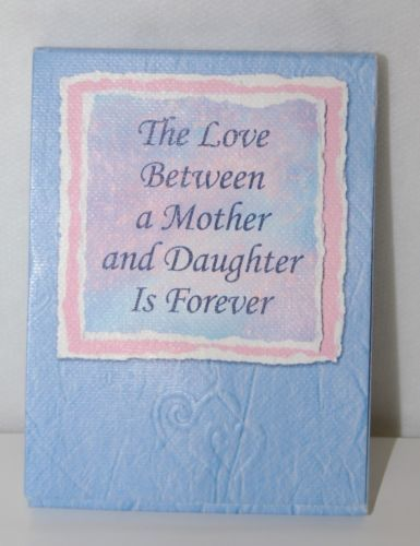 Blue Mountain Arts PNP415 Love Between Mother Daughter Forever Small Notepad