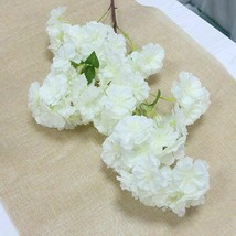 40in Long Peach Sakura Silk Flowers Blossom Branch Artificial Cherry Pin... - $11.43