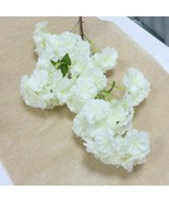 40in Long Peach Sakura Silk Flowers Blossom Branch Artificial Cherry Pin... - $11.44