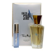 ANGEL EAU DE STAR BY THIERRY MUGLER GIFT SET WITH EDT REFILLABLE SPRAY 5... - $53.96