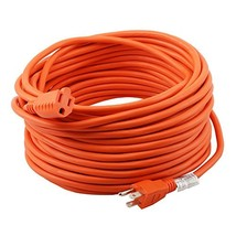 Epicord 16/3 Extension Cord Outdoor Extension Cord 100 ft Orange heavy d... - $36.08