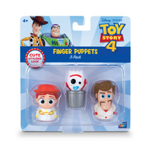 Toy Story 4 -Finger Puppets - 3 Pack Disney Pixar Toy Story 4 Finger Pup... - $6.97