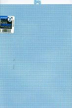 "Darice Plastic Canvas 7 Count 10""X13""-Light Blue - $5.63"
