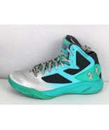 Under Armour Clutchfit 2 E24 Basketball youth boys green charged size 7Y - $26.79