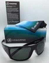 New ETHER Collection VONZIPPER Sunglasses SUPLEX Shiny Black Frame w/Grey Lenses image 10