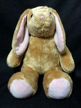 "Build-A-Bear 16"" Light Brown Bunny Rabbit Plush Stuffed Animal w/ Floppy Ears - $7.50"