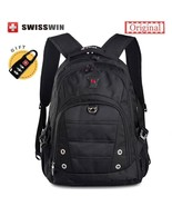 BDF Original Unisex Swisswin Brand Fashion School Backpack Waterproof 15... - $65.53