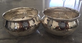 Vintage Silver 900 Small Bowl Set of 2 - 3inch ... - $223.73