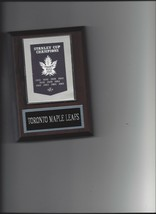 Toronto Maple Leafs Banner Plaque Stanley Cup Champions Champs Hockey Nhl - $3.95