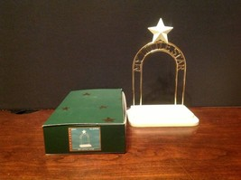 "Dept. 56 ""My Little Star"" Snowbabies Display Stand 69946 Starlight Games... - $8.99"