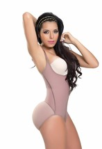 Faja Colombiana Powernet BodySuit Tummy Tuck 3 hooks Butt Lifter Levanta... - $56.99