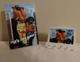 """Joe Camel """"It's For You"""" Thermometer & Key Holder - New, Old Stock - $29.65"""