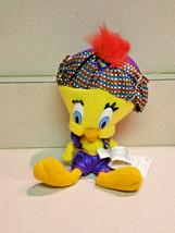 Warner Bro's. 1998 Tweety Bird Plush Toy Looney Tunes Stuffed Animal Gen... - $14.80