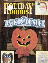 Holiday Door Hangers for all Holidays Christmas Halloween Leisure Arts 1634 - $5.93