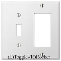 American Teams Light Switch Power Duplex Outlet Wall Cover Plate Home decor image 11