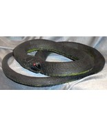 Realistic 6 foot long Black Rubber Snake - $25.00