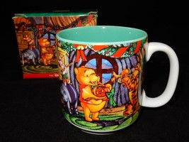 Disney Store 1997 Pooh's  Season of Song Coffee Mug w/ Box - $24.74