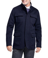 Brooks Brothers Mens Navy Blue Wool Three Layer Hybrid Jacket Sz Medium ... - $303.43