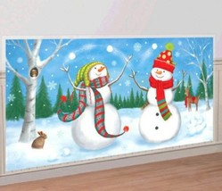 Snowman Scene Setters Add Ons Wall Decoration Kit - $4.19