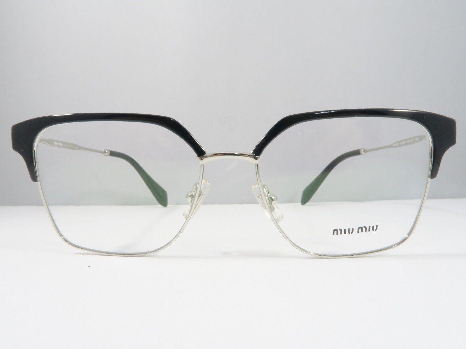 4ec03652d10b Miu Miu VMU 52O 1AB-1O1 Shiny Black   Silver and 27 similar items