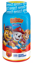 Lil Critters Paw Patrol Multivitamin Dietary Supplements - 190ct - $30.99