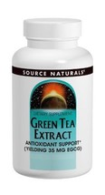 Source Naturals Green Tea Extract 500mg 60 Tablets (Pack of 2) - $15.02