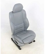 BMW E46 3-Series 4dr Front Right Passenger Sport Seat Gray Leather 1999-... - $494.01