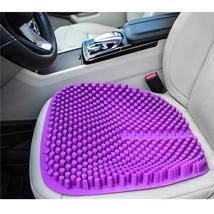 Car Seat Cushion Purple Silicone Gel Truck Auto Driver Non Slip Office C... - $49.49